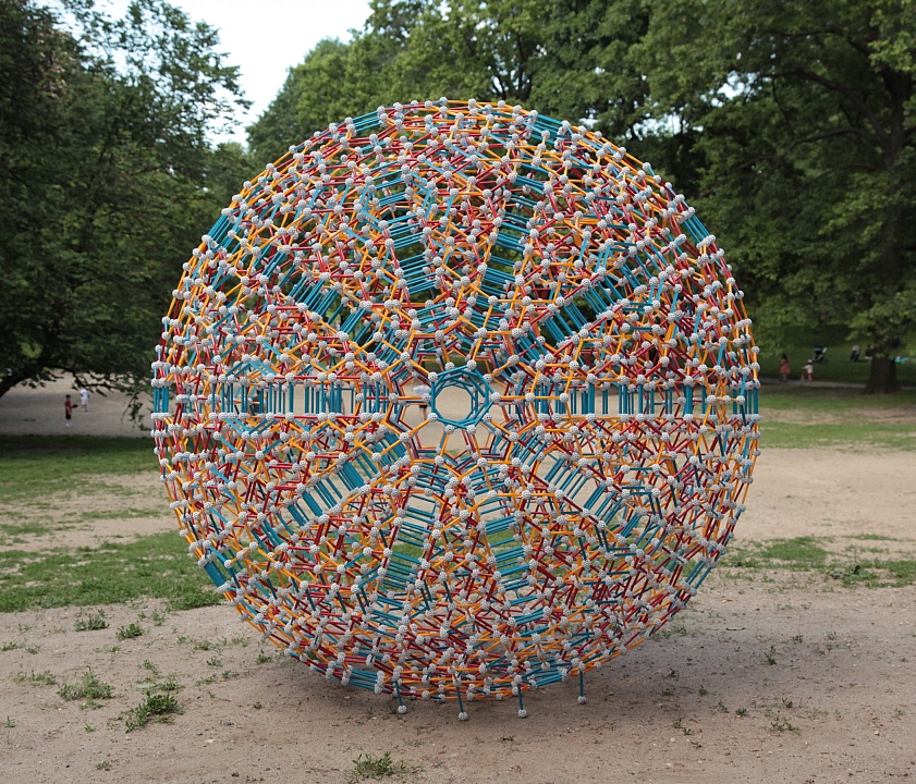 central park mathematical sculpture