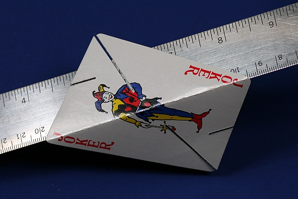star folded card