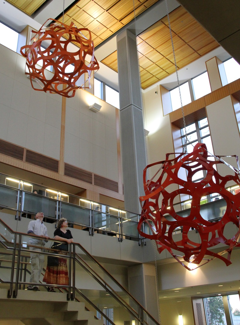 So If You Are Near Durham, NC, Go Visit Geometry Ascending A Staircase In  The CIEMAS Building At Duke University. I Hope You Enjoy Walking Up The  Stairs And ...