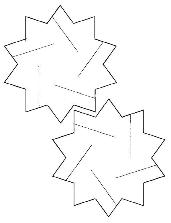 Number Names Worksheets hexagon printable template : Hexagon 3d Template